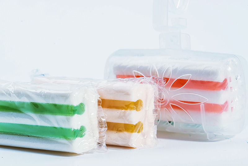 Scented Rim Blocks with Gel Stripes